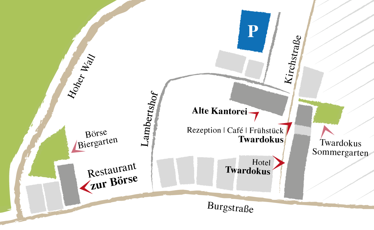 Twardokus, Zur Boerse, Alte Kantorei
